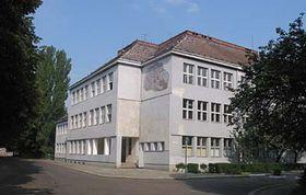 Bývalá Masarykova škola vUžhorodě, foto: autorka