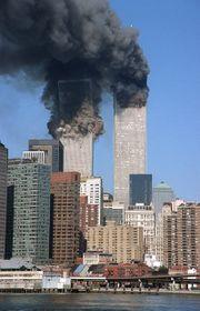 World Trade Center after the Al Qaeda attack in 2001, photo: CTK