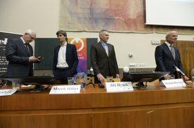 Иржа Драгош, Марек Гилшер, Иржи Гинек и Михал Горачек, Фото: ЧТК