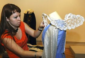 Preparing the exhibition, photo: CTK