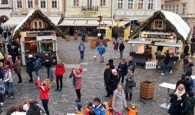 Auf dem Altstädter Ring kann man auch Trdelníky kaufen (Foto: Barbora Němcová)