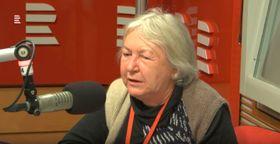 Eva Uchalová, foto: YouTube kanál ČRo - Radiožurnálu