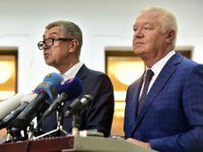 Ярослав Фалтынек и Андрей Бабиш, фото: ЧТК