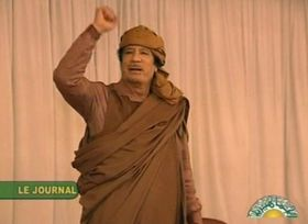 Muammar Kadhafi, photo: CTK