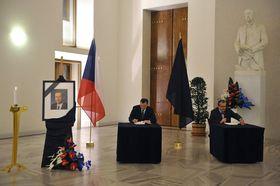 Petr Nečas y Karel Schwarzenberg, foto: ČTK