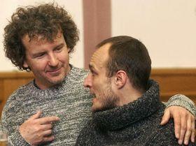F. A. Brabec y Karel Dobrý, foto: CTK