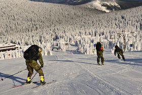 Winter-Survival-Camp von Armeeteams (Foto: Archiv der tschechischen Armee)