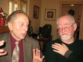 Jakub Trojan, Gerry Turner (right), photo: David Vaughan