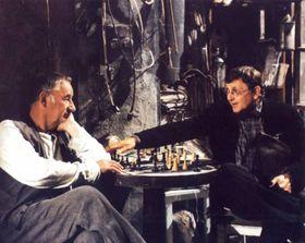 Philippe Noiret et Jiří Menzel