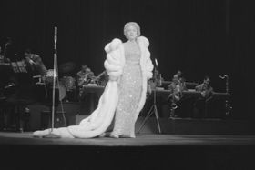 Concierto de Marlene Dietrich en Amsterdam (1963), foto: Henk Lindeboom, Wikimedia Commons CC0