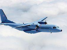Avión militar CASA, foto: Ministerio de Defensa