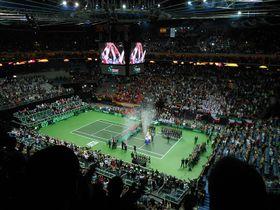 Finále Davis Cupu, foto: Daniel Ordóñez / Archiv ČRo 7