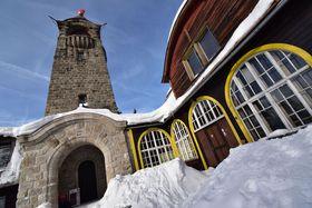Sáňkařská dráha ve Smržovce začíná urozhledny Černá Studnice, foto: Ondřej Tomšů