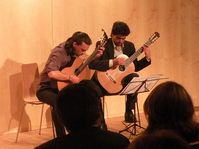 Umbral Dúo de Guitarras, foto: autora