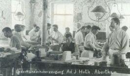 Handschuhfabrik in Abertham