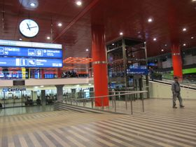 Главный вокзал в Праге (Фото: Кристина Макова, Чешское радио - Радио Прага)