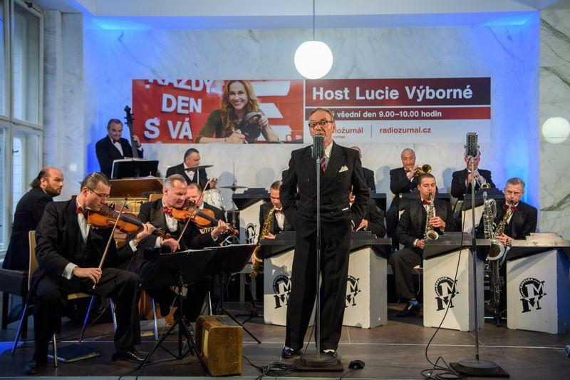 Ondřej Havelka and his Melody Makers, photo: Khalil Baalbaki / Czech Radio