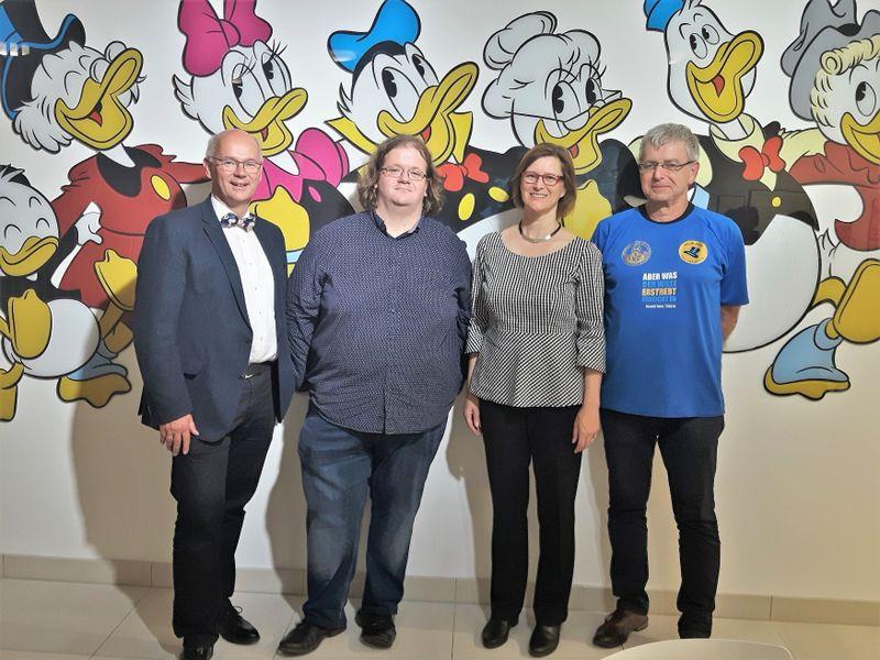 Hans-Peter Baumann, Pavel Kořínek, Alexandra Hentschel, Gerhard Severin (Foto: Maria Hammerich-Maier)
