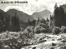Alto Tatra, Tarjeta QSL de Radio Praga (1976)