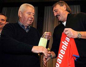 Josef Masopust et Antonín Panenka, photo: CTK