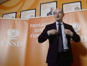 Председатель ЧСДП Богуслав Соботка (Фото: ЧТК)