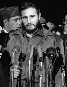 Fidel Castro (Foto: Warren K. Leffler, Archhiv Library of Congress, Wikimedia Commons, Public Domain)
