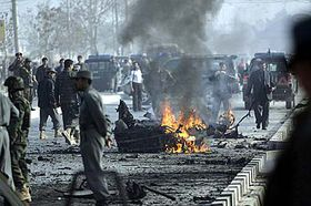 A suicide attack against U.S. troops in Kabul, Afghanistan, photo: CTK