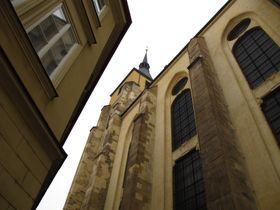 Kostel svatého Jiljí, foto: Kristýna Maková / Český rozhlas - Radio Praha