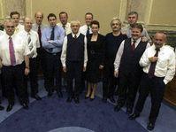 Gobierno checo saliente (Foto: CTK)