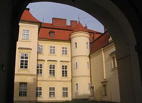 Palacio de Bystrice pod Hostýnem