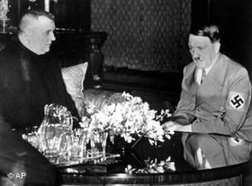 Josef Tiso and Adolf Hitler