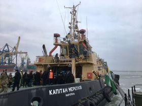 В порту Мариуполя, Фото: Катерина Айзпурвит