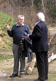 Jaromír Breuer (vlevo) aJosef Kubeczka, foto: Štěpán Černoušek