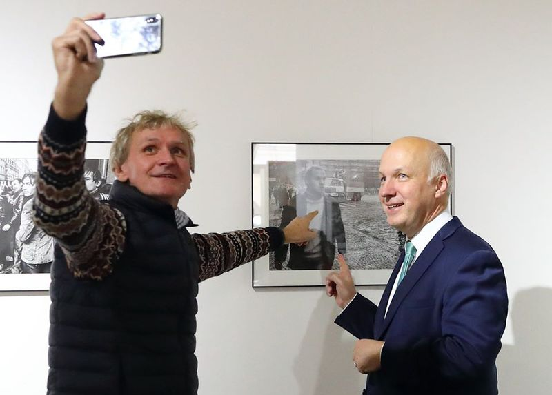Jan Šibík et Pavel Fischer, photo: Facebook de Pavel Fischer