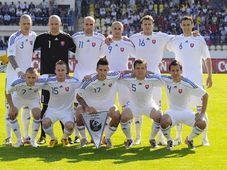 The Slovak team, photo: CTK