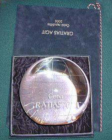 Cena Gratias agit 2005, foto: Martina Hřibová