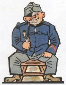 Švejk, illustration by Josef Lada