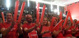 Rund 1300 Gewerkschafter haben sich in Prag getroffen (Foto: ČTK / Michal Krumphanzl)