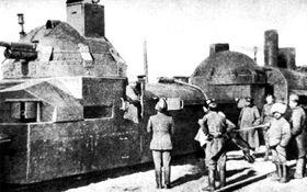 Бронепоезд «Орлик» чехословацких легионеров, Фото: открытый источник