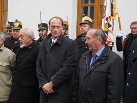 Jan Bárta, David Hroch und Jiří Burian (Foto: Martina Schneibergová)