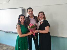 Liana Beťková, Vicente Carreres y Šárka Švábová, foto: Dominika Bernáthová