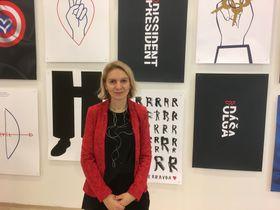куратор проекта Чешских центров Моника Коблерова, фото: Катерина Айзпурвит