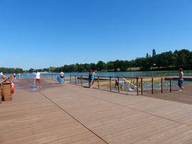 Плавучая платформа, фото: Клара Стейскалова
