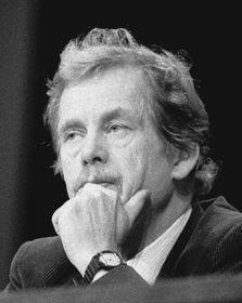 Vaclav Havel in 1990, photo; CTK