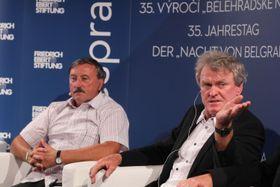 Antonín Panenka und Sepp Maier (Foto: Archiv FES Prag)