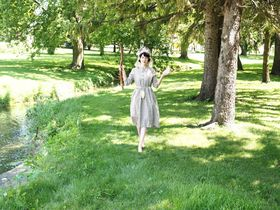 Along the Bohemian Creek in Protivin, photo: archive of Sonya Darrow