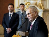 Miloš Zeman, photo: archive of Czech Radio