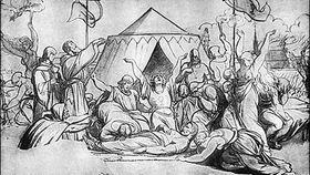 La muerte de Jan Žižka