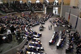 Abgeordnete im Bundestag (Foto: Archiv des Deutschen Bundestags)