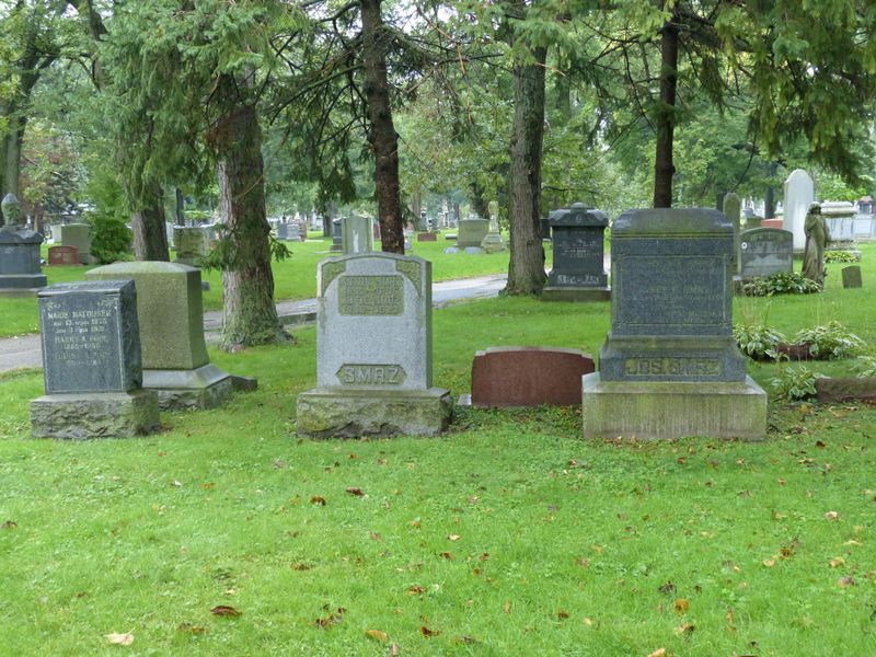 Český národní hřbitov vChicagu, foto: Klára Stejskalová